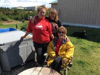 CarolAnn Hester, Meganna Schlais and Elizabeth Hester Image