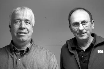 Dave Cousens and Edwin McKie